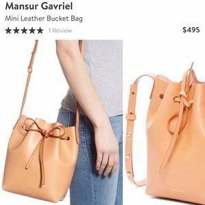 MANSUR GAVRIEL- Mini Bucket Bag